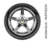 Car Wheel With Sport Rims...