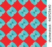 the geometric texture. boho...   Shutterstock .eps vector #465925640