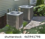hvac heating and air... | Shutterstock . vector #465941798