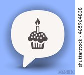 pictograph of cake | Shutterstock .eps vector #465964838