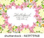 vintage delicate invitation... | Shutterstock . vector #465975968