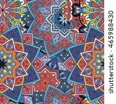 seamless pattern. vintage... | Shutterstock .eps vector #465988430