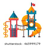 illustration of a children... | Shutterstock .eps vector #465999179