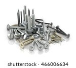 fasteners  bolts  nuts and... | Shutterstock . vector #466006634