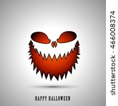 halloween layout design cover... | Shutterstock .eps vector #466008374