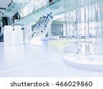 modern laboratory background... | Shutterstock . vector #466029860