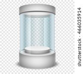 Empty Glass Shop Cylinder...