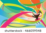 torch vector abstract colors... | Shutterstock .eps vector #466059548
