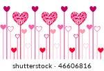 heart icons  valentin's day   Shutterstock .eps vector #46606816