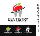 Logo Of A Stylized Tooth Built...