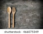 wooden spoon | Shutterstock . vector #466075349