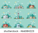 mega set of icons for your... | Shutterstock .eps vector #466084223