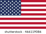 united states flag | Shutterstock .eps vector #466119086
