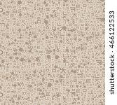 seamless pattern with korean...   Shutterstock .eps vector #466122533