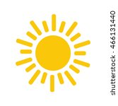 sun icon. trendy vector summer... | Shutterstock .eps vector #466131440