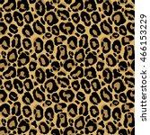 vector seamless pattern with... | Shutterstock .eps vector #466153229