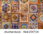 Asian Tiles With Traditional...