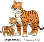 funny exotic animals | Shutterstock .eps vector #466182770