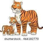 funny exotic animals | Shutterstock .eps vector #466182770