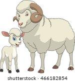 funny exotic animals   Shutterstock .eps vector #466182854