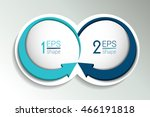 two business elements banner ... | Shutterstock .eps vector #466191818