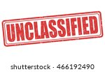 Unclassified grunge rubber stamp on white background, vector illustration