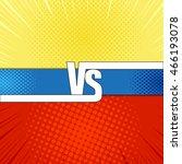 comic fight template. cartoon... | Shutterstock .eps vector #466193078