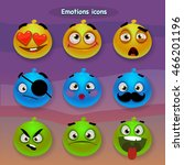 funny cartoon smiles for game...