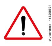 attention sign | Shutterstock .eps vector #466208534