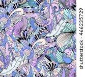 seamless pattern background...   Shutterstock .eps vector #466235729