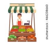 Farm Shop. Local Stall Market....