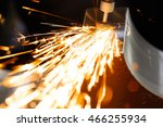 drill with diamond tipped... | Shutterstock . vector #466255934