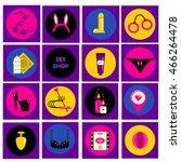 erotic  sex shop symbols. adult ...   Shutterstock .eps vector #466264478
