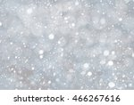 silver christmas background... | Shutterstock . vector #466267616