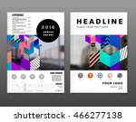 business abstract template... | Shutterstock .eps vector #466277138