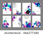 business abstract template... | Shutterstock .eps vector #466277180