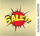 comic sales  vector illustration | Shutterstock .eps vector #466282964