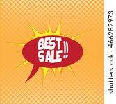 comic sales  vector illustration   Shutterstock .eps vector #466282973