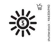 business icon. flat design.   Shutterstock .eps vector #466306940
