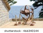 isla negra  chile   nov 23 ... | Shutterstock . vector #466340144