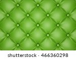 3d render of the green quilted... | Shutterstock . vector #466360298