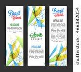 creative website banner set... | Shutterstock .eps vector #466382054