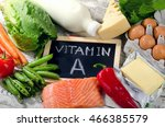 natural products rich in... | Shutterstock . vector #466385579