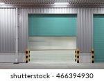 roller shutter door and... | Shutterstock . vector #466394930