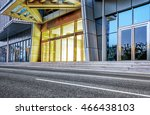 city empty traffic road with... | Shutterstock . vector #466438103