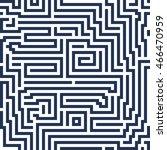 vector abstract seamless...   Shutterstock .eps vector #466470959