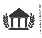 college icon university... | Shutterstock .eps vector #466471703