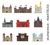 Cartoon Fairy Tale Castle Towe...