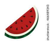 delicious and fresh watermelon... | Shutterstock .eps vector #466489343