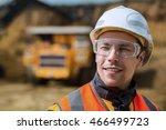 coal mining wokrer | Shutterstock . vector #466499723